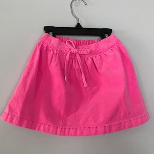 Carters girls pink skirt size 4t nwot